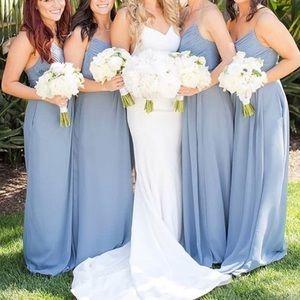 78e29f7100b Weddington Way Dresses - Weddington Way Camille Bridesmaid Dress Dusty Blue